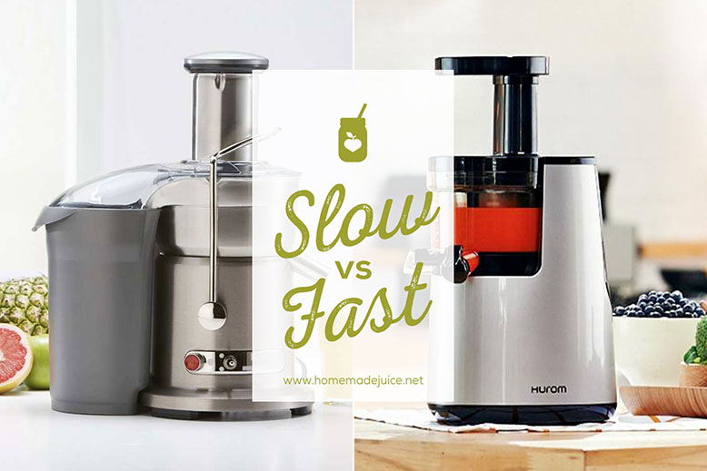 slow vs fast juicers