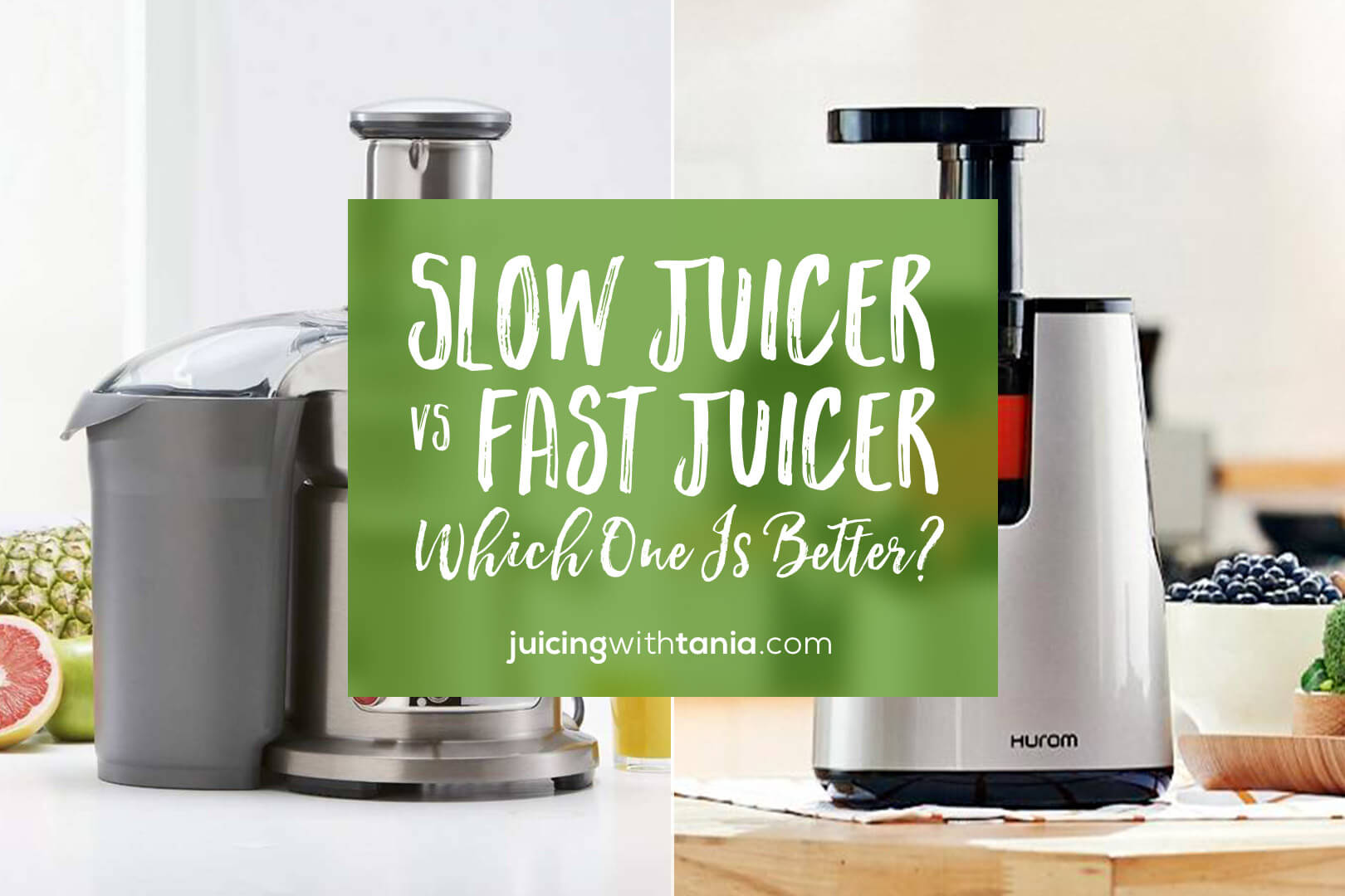 slow juicers vs fast juicers