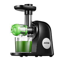aicok slow masticating juicer green