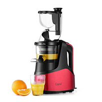 caynel slow masticating juicer red