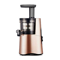 hurom slow juicer rose gold