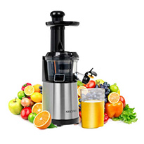 secura slow juicer in stainless steel