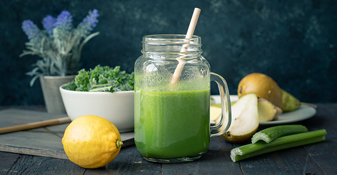 Healthy Green Juice Recipe - Green Gorgeousness - JuicingWithTania.com