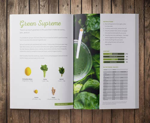 free juicing recipe book