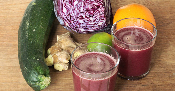 Healthy Juice Recipe for Peptic Ulcers – Ruby Remedy